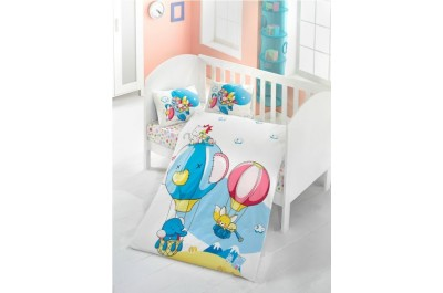 Постелъчен комплект за бебе Macera