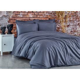 Спален комплект - 100% памук сатен - 210 нишки - Антрацит  от Ditex