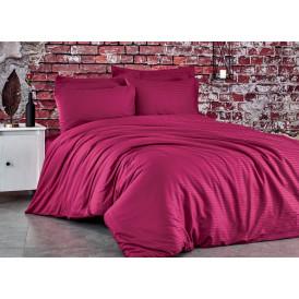 Спален комплект - 100% памук сатен - 210 нишки - Бордо  от Ditex