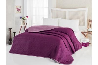 Покривка за легло Соня Бордо, две лица