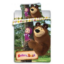 Перде - Masha and The bear -100% памук ранфорс  от Ditex
