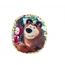 Барбарон - Masha and The bear - 100% памук ранфорс  от Ditex
