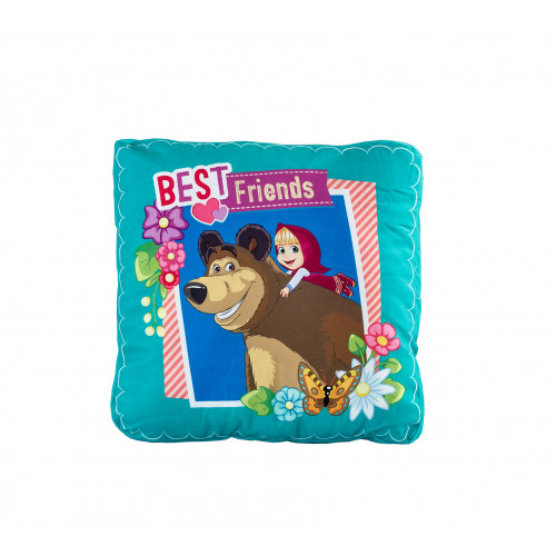 Декоративна Възглавница - Masha and The bear - 100% Полиестер плюш  от Ditex