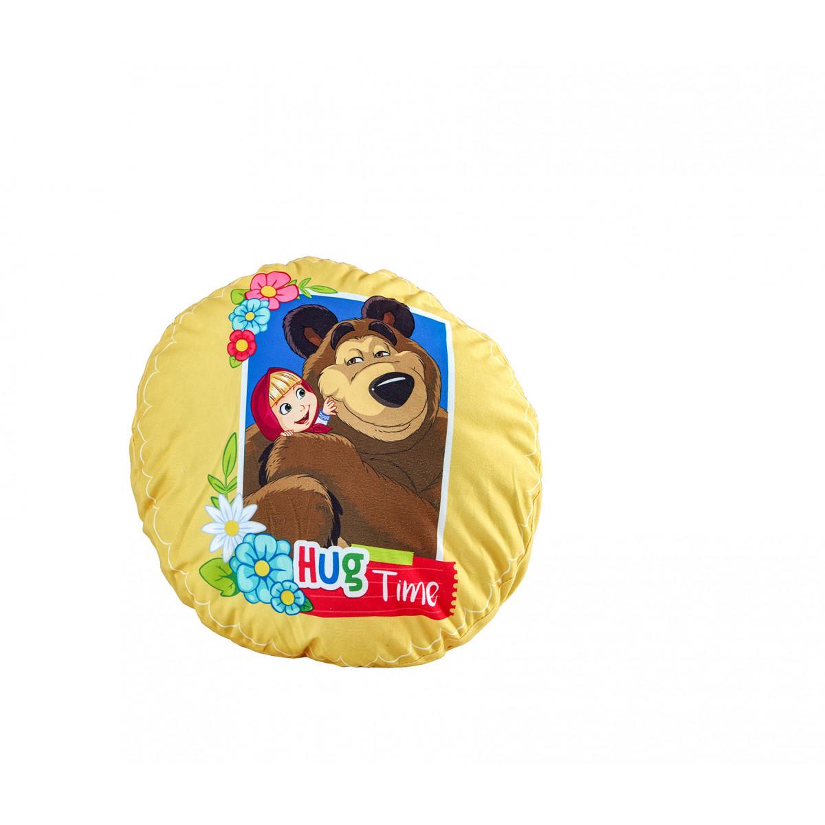 Декоративна Възглавница - Masha and The bear - 100% Полиестер плюш