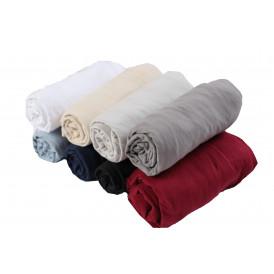 Долен чаршаф с ластик 100% памук трико - 160гр/м2 - 100х200+20см  от Ditex