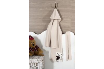 Бебешки халати за баня, с качулка, 380 гр