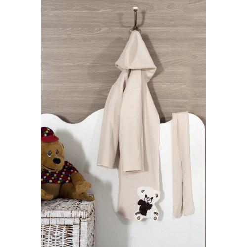 Бебешки халати за баня, с качулка, 380 гр Хавлиени изделия