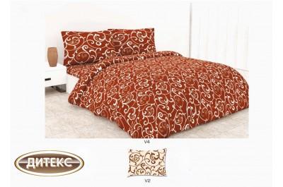 Спален комплект 100% памук Хасе Лозя