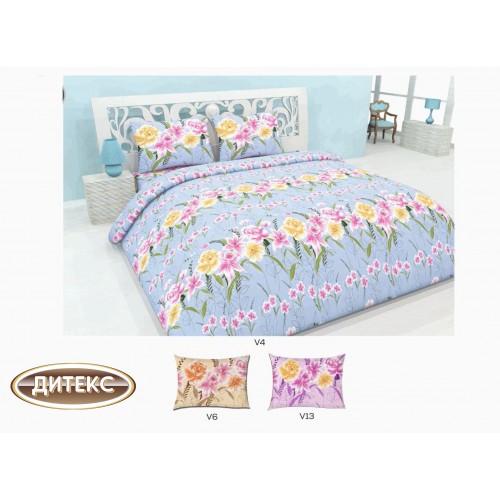 Спален комплект 100% памук Хасе Градина Спални комплекти Хасе