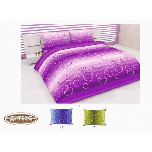 Спален комплект 100% памук Хасе Кръгове  Спални комплекти Хасе