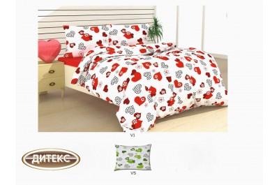 Спален комплект 100% памук Хасе Сърца