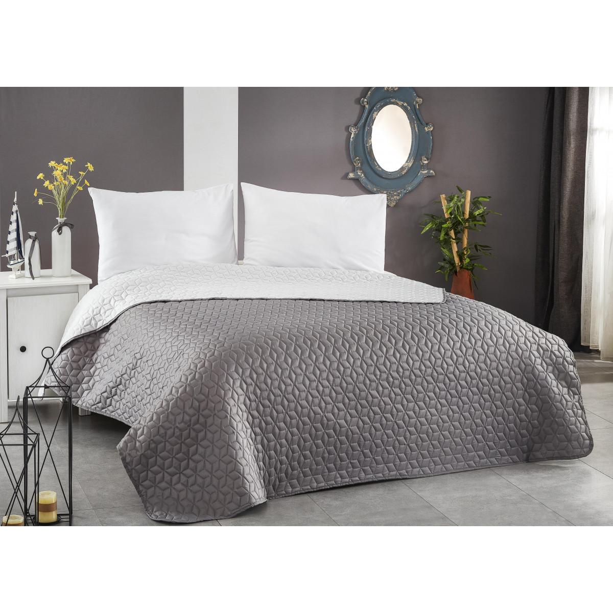 Покривало за легло ултрасоник - ГРАФИТ