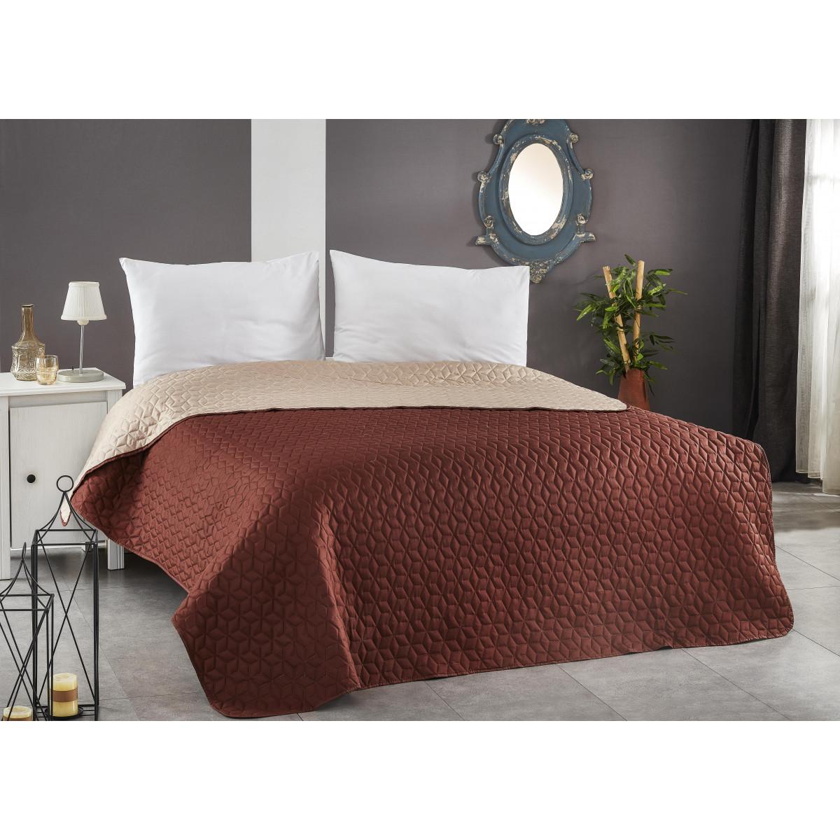 Покривало за легло ултрасоник - КАПУЧИНО
