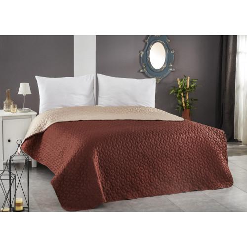 Покривало за легло ултрасоник - КАПУЧИНО  от Ditex