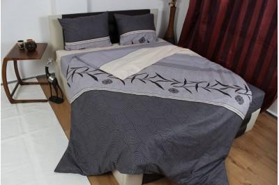 Спален комплект постелъчен Дзен единичен 3 части Ранфорс