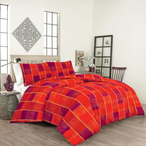 Спален комплект постелъчен Мадлен Ранфорс  от Ditex