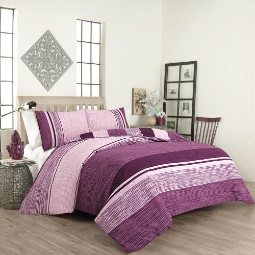 Спален комплект постелъчен Виолета Ранфорс  от Ditex