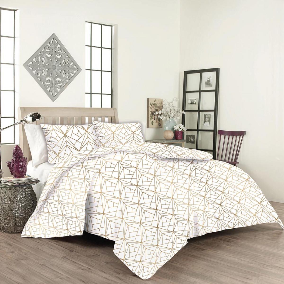 Спален комплект 100% памук ранфос Кристал