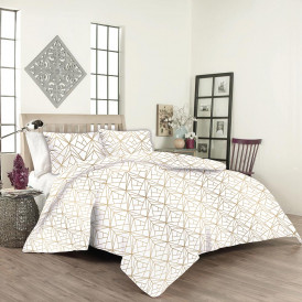 Спален комплект 100% памук ранфос Кристал  от Ditex